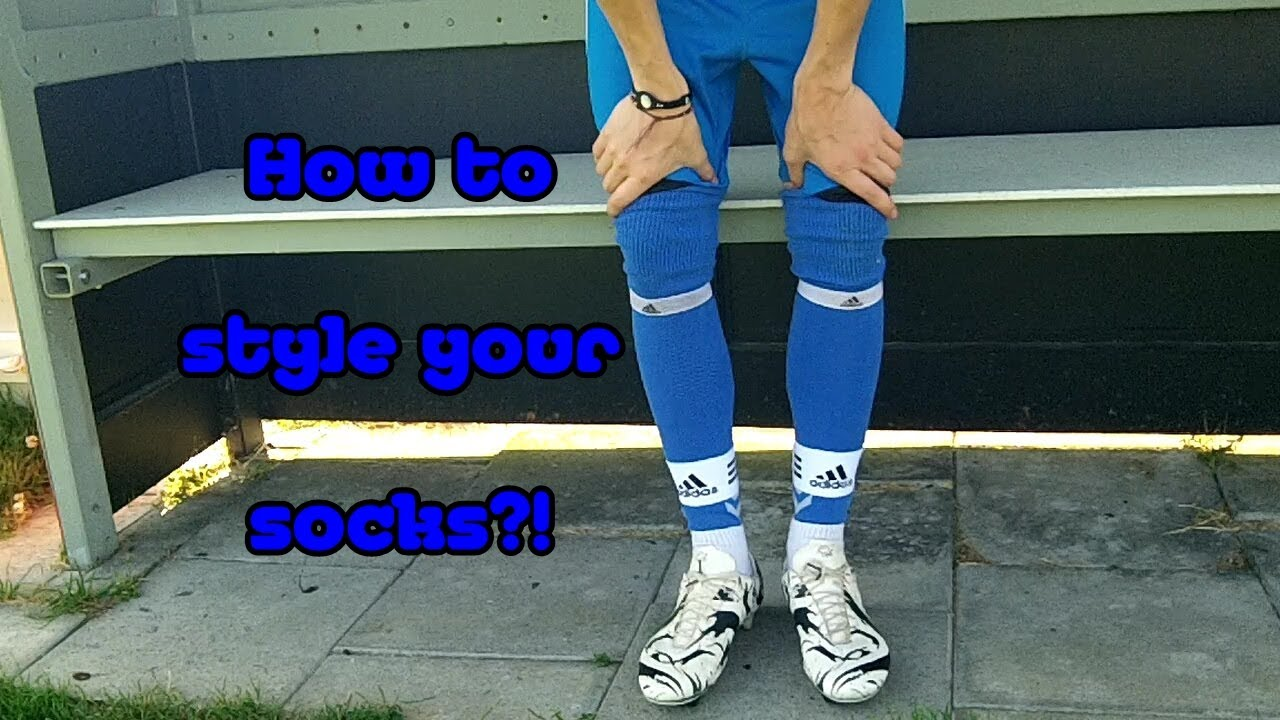 official photos uk store low cost CRISTIANO RONALDO STYLE ? How to style your socks ? HD