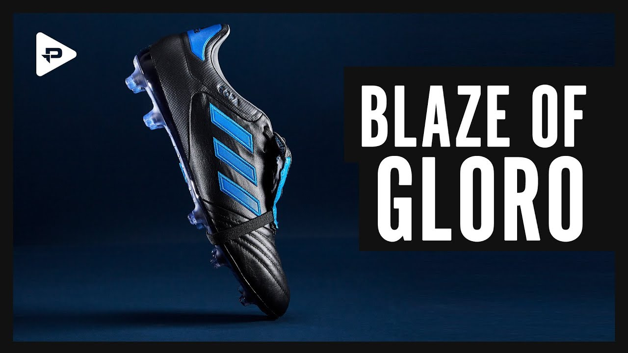 wholesale dealer e8d3f c80bb BLAZE OF GLORO! ADIDAS COPA GLORO BLACKBLUE CLOSER LOOK
