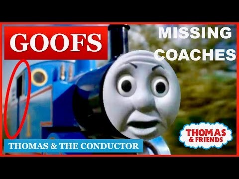 Goofs Found In Thomas & The Conductor (All Of The Mistakes)