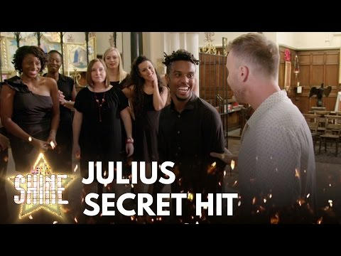 Gary Barlow surprises Julius Wright, could it be his 'Greatest Day'? - Let It Shine - BBC One