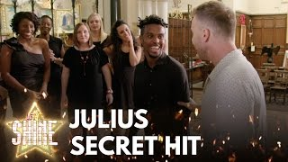 Gary Barlow surprises Julius Wright, could it be his