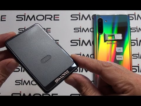 Galaxy Note 10 Dual SIM Bluetooth Adapter Android With 3 Numbers Active At The Same Time - SIMore