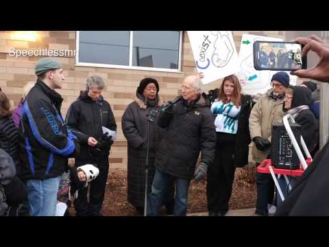 Pastor John Piper comments in front of Planned Parenthood St. Paul MN