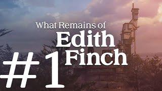 ESRARENGİZ BİR HİKAYE  | What Remains of Edith Finch BÖLÜM 1