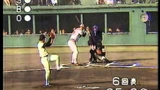 1984 槙原寛己 6 日米野球    大リーグボール? カル・リプケン怒る
