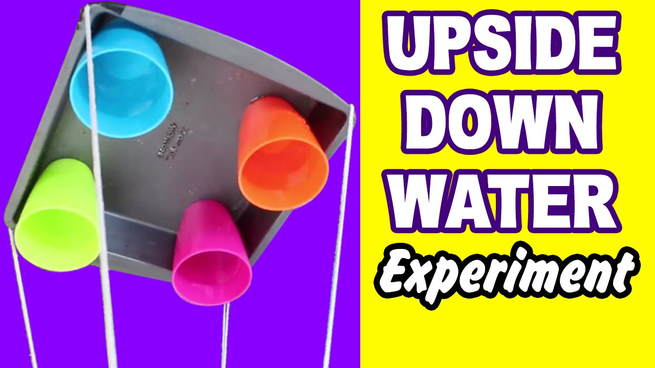 diy easy science experiment amazing science experiments upside