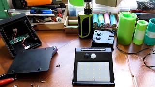 Обзор автономного светодиодного прожектора работающего от солнечной энергии
