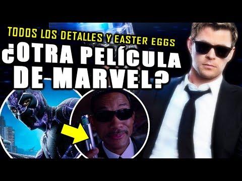 ¡LO QUE NO VISTE! Trailer de MIB International todos los detalles, secretos y Easter Eggs | ANÁLISIS
