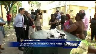 Sen. Rubio tours Stonybrook Apartments