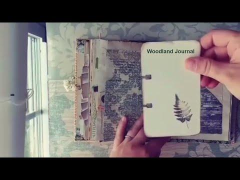 Woodland / Nature Junk Journal / Vintage Readers Digest Cover (Custom)