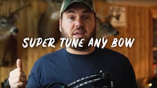 How to Super Tune a Mathews Vertix (Or any other bow)