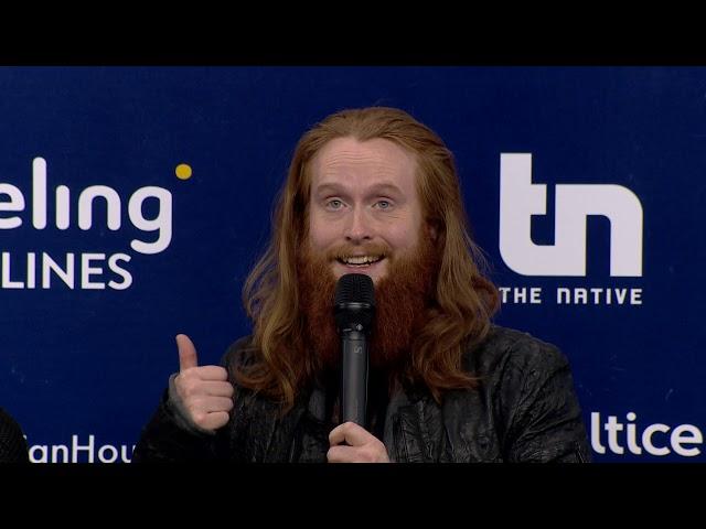 Rasmussen | Dinamarca | Press Conference | Eurovisão 2018