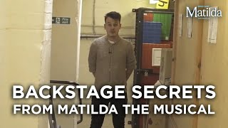 Backstage Secrets #8 | The Yellow Brick Road | Matilda The Musical