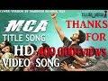 MCA Video song || Middle Class Abbayi || HD | nani | Sai Pallavi | By Brahma Teja Maripudi