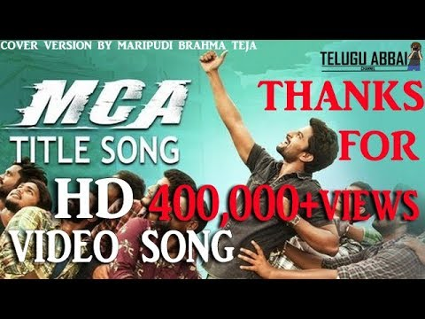 MCA Video song    Middle Class Abbayi   ...