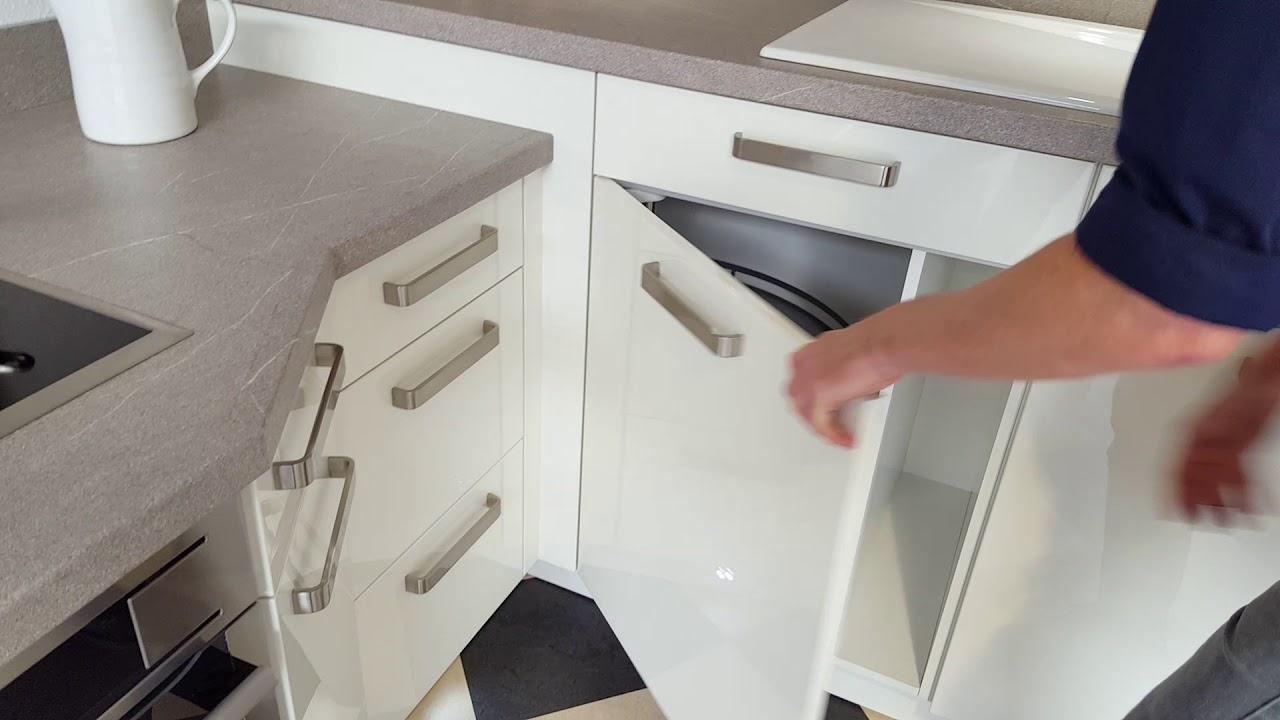 Elegante L Küche In Weiß Hochglanz Lack Modell 2021