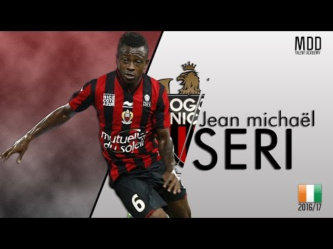 Jean Michaël Seri | Nice | Goals, Skills, Assists | 2016/17 - HD