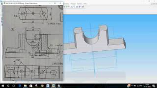 Solid Edge | Plummer Block | Part 1 - Body