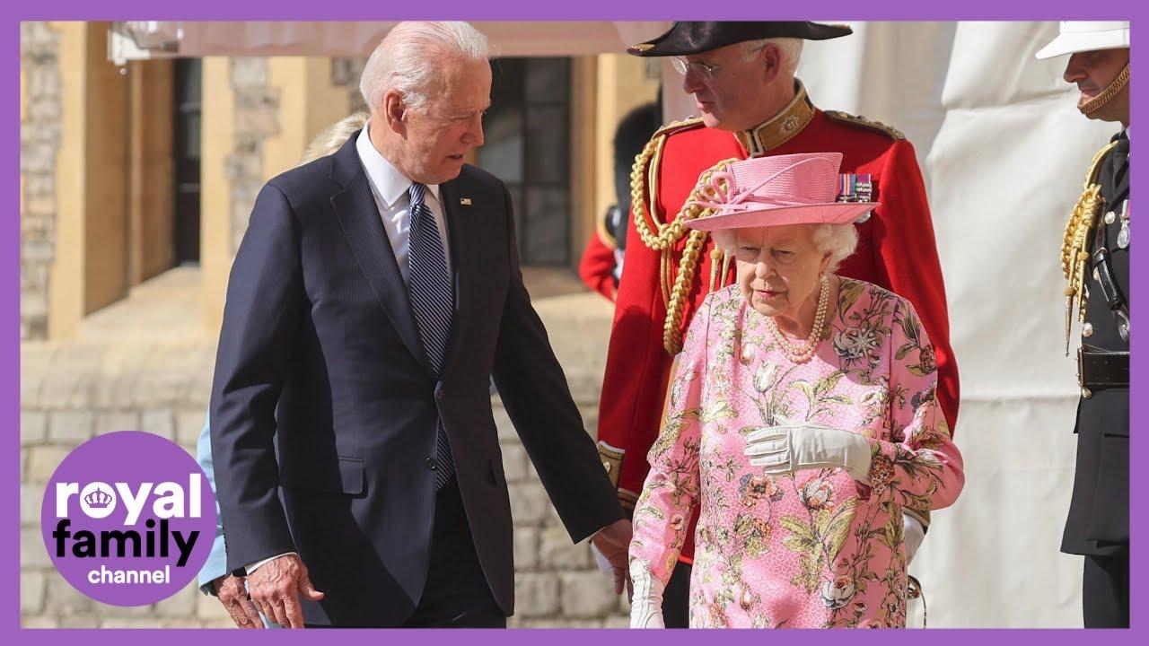 The Queen Hosts US President Joe Biden at Windsor Castle
