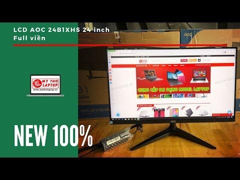 LCD 24 Inch FULL Viền AOC - Đỉnh Cao Giải Trí Mức Tầm Trung