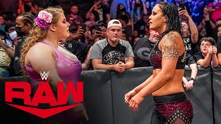 Doudrop rescues Dana Brooke from further damage by Shayna Baszler: Raw, Oct. 4, 2021