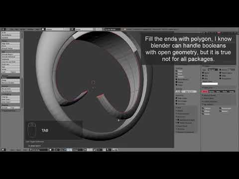 Jewelry Design Tutorial: Creating a model for 3D printer with Blender and netfabb
