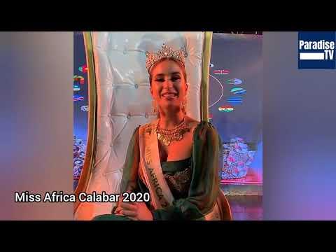 Miss Tunisia, Sarra Sellimi is Miss Africa Calabar 2020