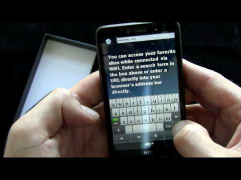HTC HD2 (T-Mobile) - Unboxing and Hands-On