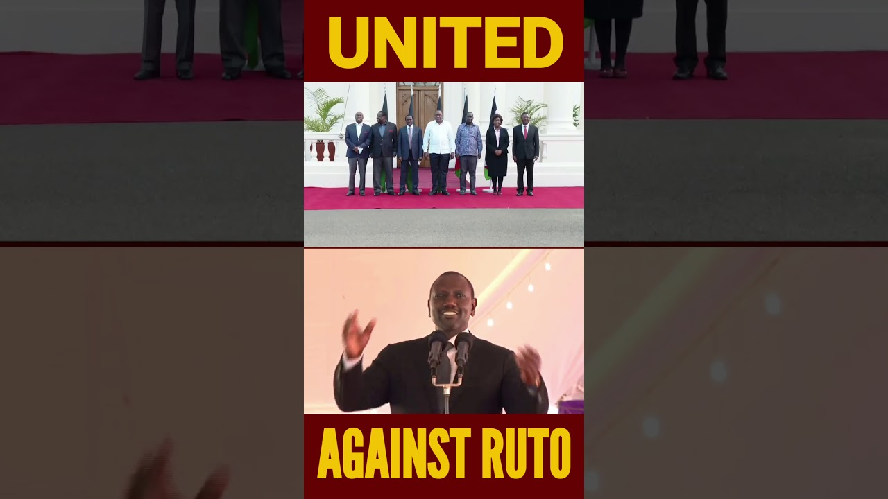 UNITED AGAINS RUTO #Shorts #BreakingNewsKenya #Kenya