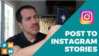 How To Use Instagram Stories (2018)