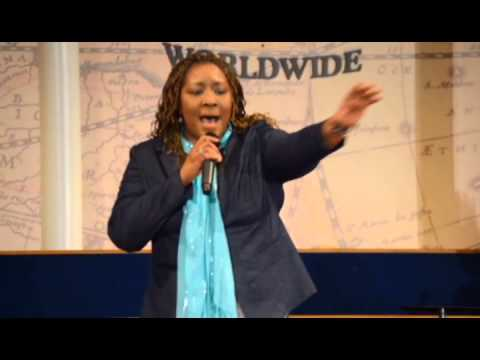 "Ursula T. Wright singing ""Fill Me Up"""