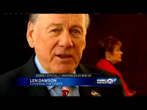 Len Dawson reacts to John Dorsey hiring