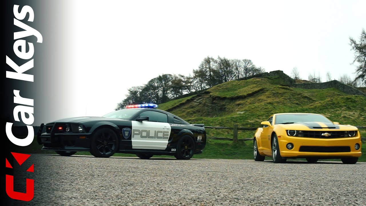 Meet Bumblebee And Barricade From Transformers Car Hire