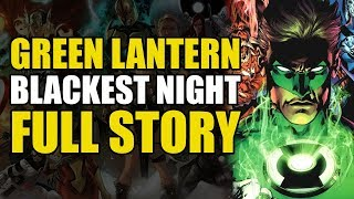 Green Lantern Blackest Night: Full Story