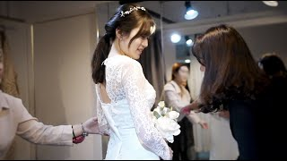 [결혼준비] 스튜디오 촬영용 웨딩드레스 고르고 왔습니다…