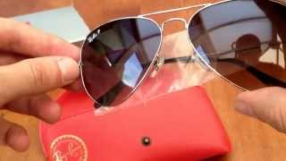 Ray Ban polarised aviator sunglasses (original)(via YouTube Capture., 2013-09-04T18:56:40.000Z)