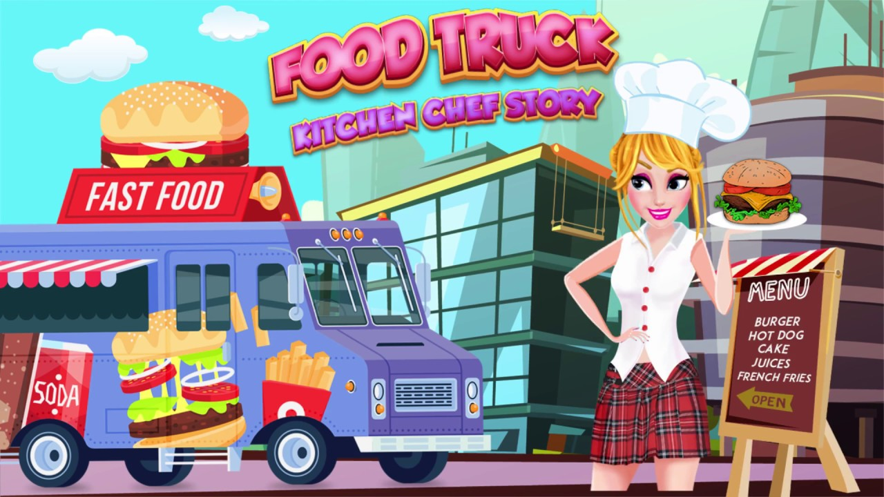 Food Truck Kitchen Fever Chef; Burger Cooking Game - Android Game ...