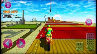 """Crazy Bike Stunt Games 3D Bike games 2020 """"Day Mode"""" Motor Games - Android GamePlay"""