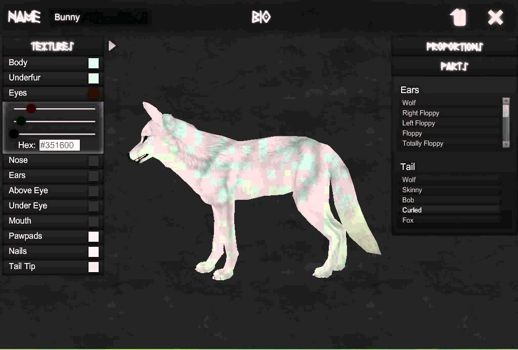 Arokai Character Creator Bunny Wolf Youtube