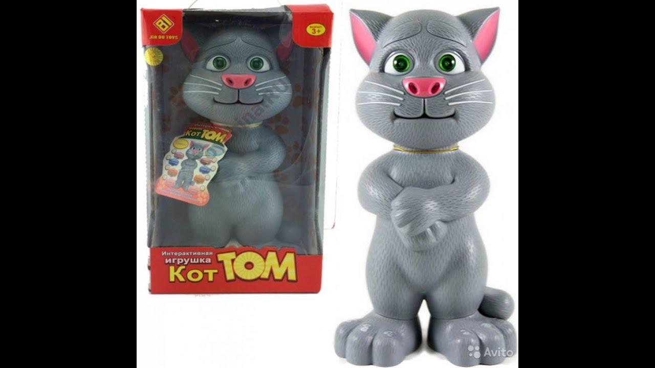 Говорящий кот том картинки игрушка