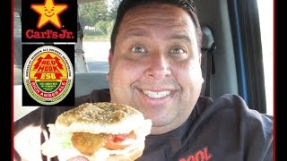 Carl's Jr. Redhook® Beer Battered Cod Fish Sandwich Review!