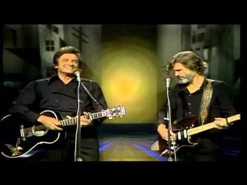 Johnny Cash & Kris Kristofferson- Sunday Morning Coming Down(subtitulada en español)