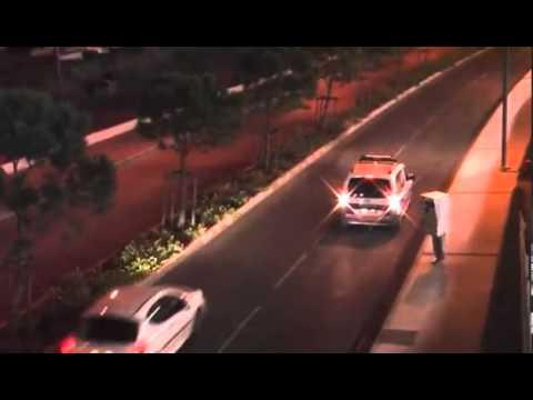 Funny Human Radar trap records police car