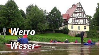 Kanutouren auf Werra und Weser