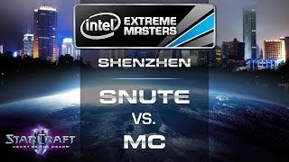 Snute vs. MC - IEM Shenzhen 2014 - LB RO 2a EU Qualifier - StarCraft 2