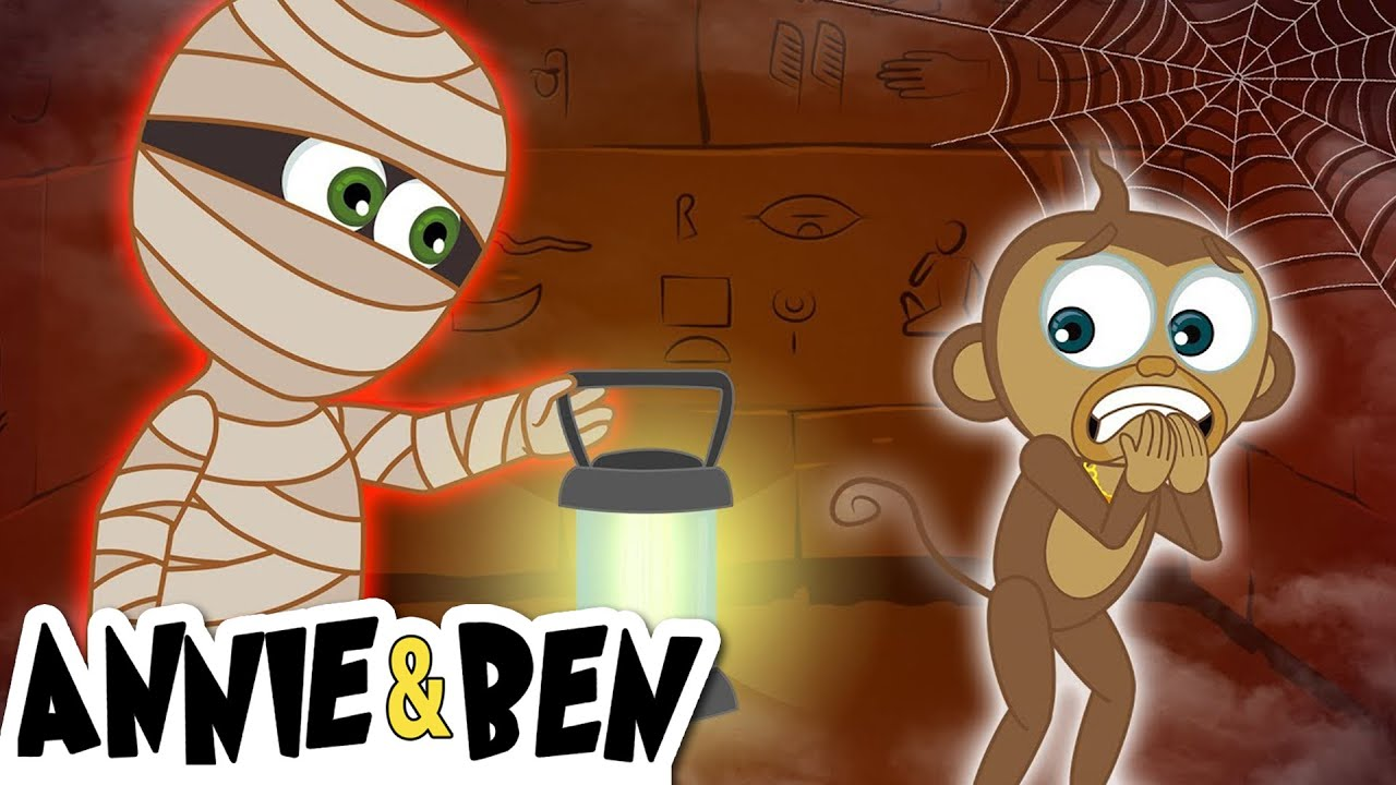 The Adventures Of Annie And Ben The Mummy S Mystery Treasure Animated Mystery Cartoons For Kids Youtube