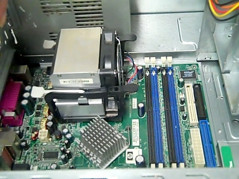 How to Install HP Compaq Heatsink and Fan Combo | P4 2 88ghz Heatsink -  Hewlitt Packard Compaq