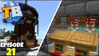 Truly Bedrock Episode 21! Raiding Villager Trading Hall! Minecraft Bedrock Survival Let's Play!