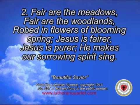 Beautiful Savior, by the Lutheran Quartet