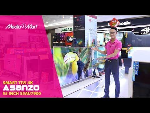 Smart Tivi 4K Asanzo 55 inch 55AU7900: Giá rẻ, chất lượng tốt